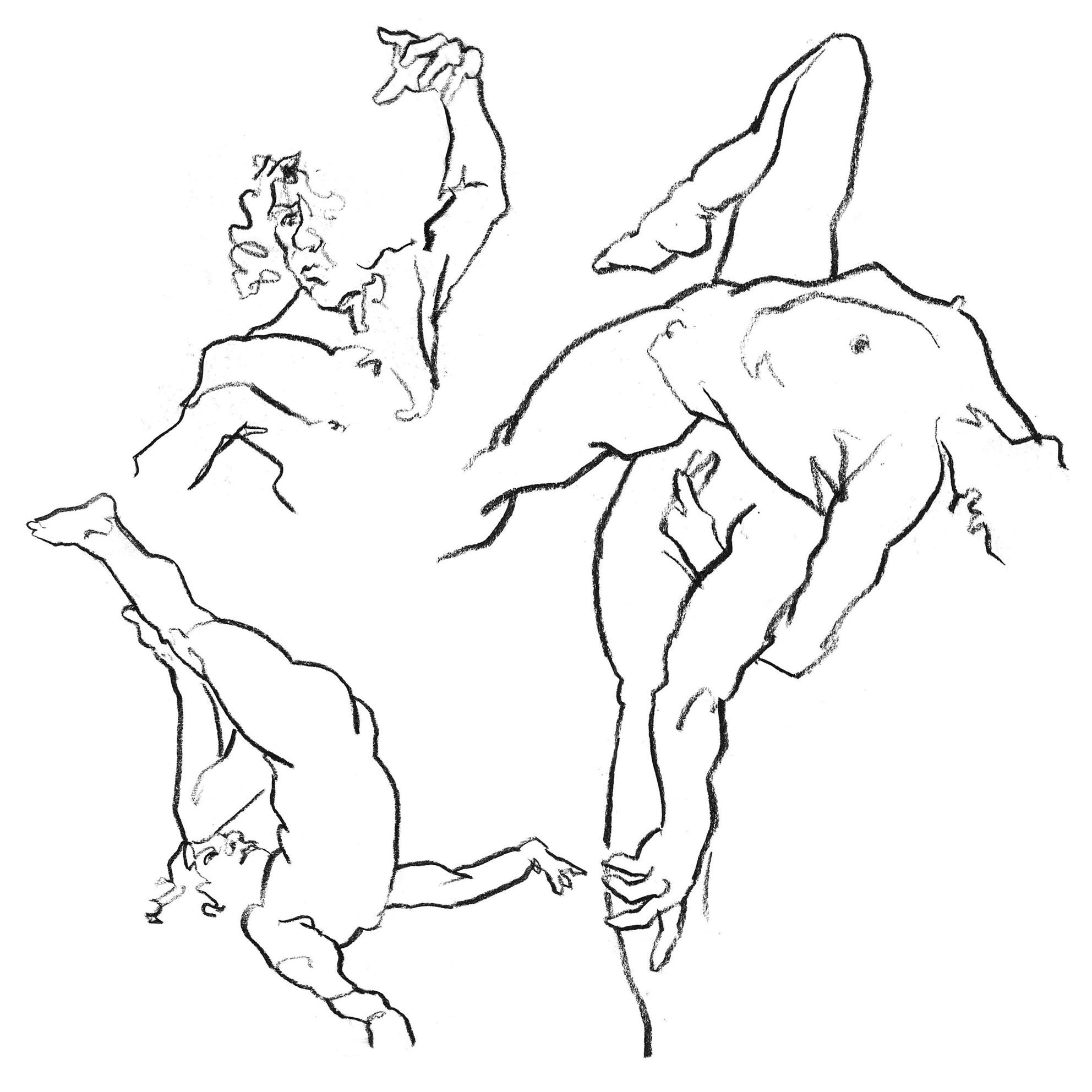 Gesture Drawings – Deryck Henley
